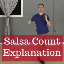 Salsa timing on 1