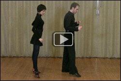 Salsa dance hesitation move - Image
