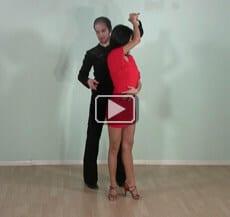 Salsa dance steps