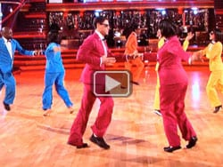 Gangnam style dancing with the stars