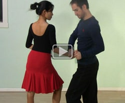 Swing dance steps