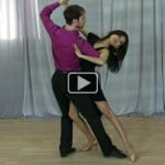 Tango dance video