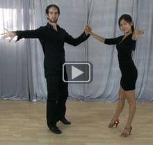 Swing dance combination