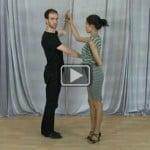 Hammerlock Turn with hair drape – Learn how to dance online