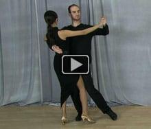 Tango dance steps
