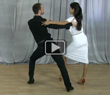 Swing dancing moves