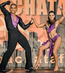 Uri and Vera Salsa Champions