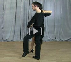 Swing dance move