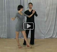 Salsa dancing steps