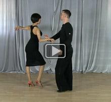 Swing dance moves