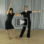 Lady's Arm styling for Opening Out Rumba Move