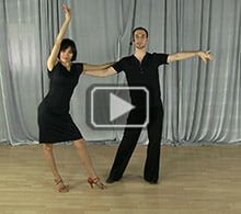 Rumba dance steps