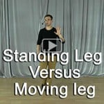 Difference between Standing leg & Moving leg (Technique Video)