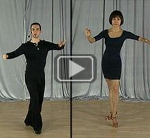 Swing dance practice drill