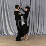 Natural turn waltz dancing lesson
