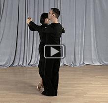 Foxtrot dance steps