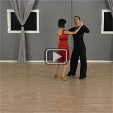 Salsa side basic step image