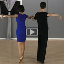 Waltz dance intermediate move