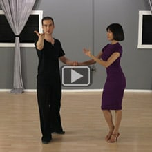 Where to look in partner dancing