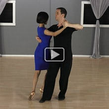 Tango Reverse Turn with Swivels