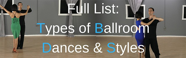 Types of Ballroom dances