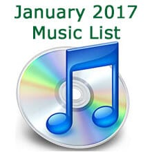 January music list