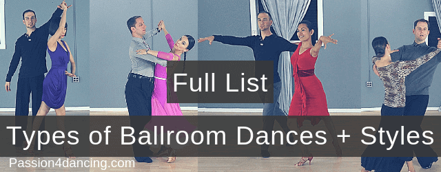 All Types Of Ballroom Dance Styles 23 Different Ballroom