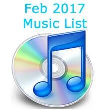 February list