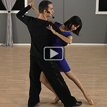 Tango Basic Dance Routine