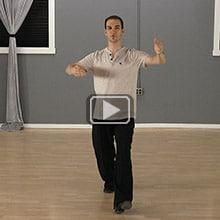 Waltz steps practice drills