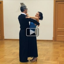 Waltz Reverse Turn International Style