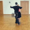 Waltz dance outside change