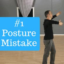 Posture mistakes dancers make