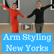 Arm styling for new yorkers in Rumba
