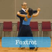 Foxtrot ballroom steps