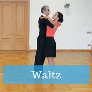 Waltz dancing