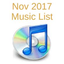 Nov music list