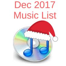 Dec music list