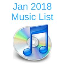 Jan music list