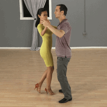 Bachata basic right