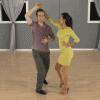 Bachata Lady's turn and loop
