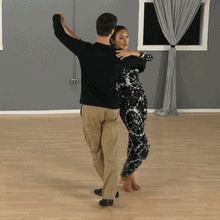 Twist turn paso doble