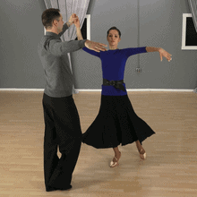 Waltz Natural Underarm Turn