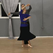 Waltz Reverse Underarm Turn