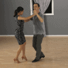 Bachata forward and back basic