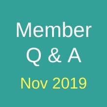 Nov Q&A 2019