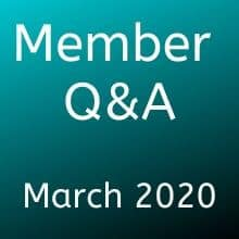 March Q&A