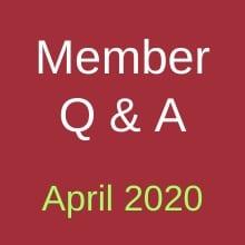 April Q&A