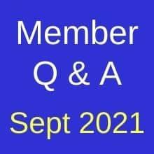QA Sept 2021